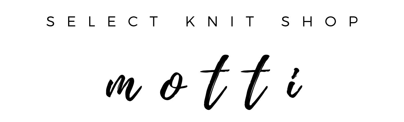 KNIT SELECT SHOP motti